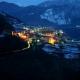 01.lisignago_altopiano_di_pin_valle_di_cembra_fornace_civezzano_notturna_del_paese